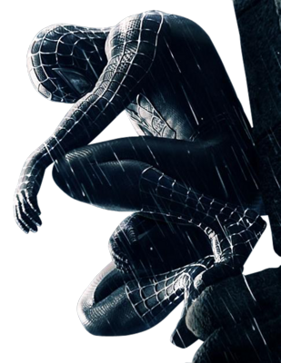 Black Spider-man Sit
