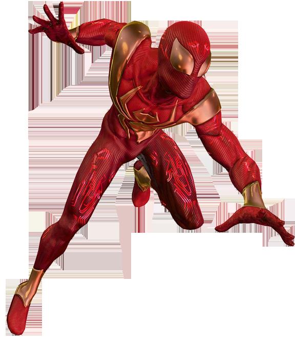Iron Spider Jump