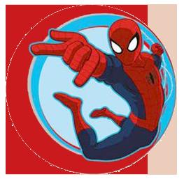 spider man clipart rh wondersofdisney webs com Spider-Man Logo Clip Art spiderman circle logo shirt