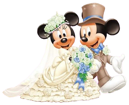 mickey   minnie wedding clipart Black and White Clip Art of Landforms Drink Clip Art Black and White