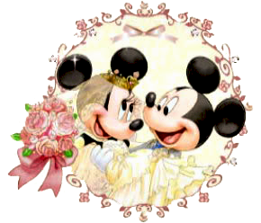 Mickey & Minnie Wedding Clipart