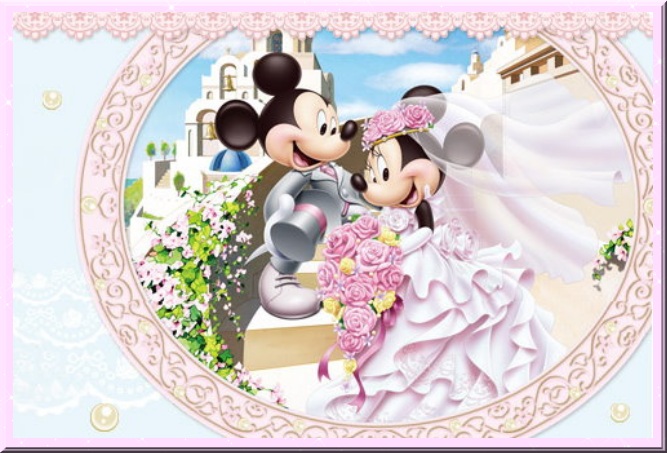 Mickey & Minnie Wedding Clipart