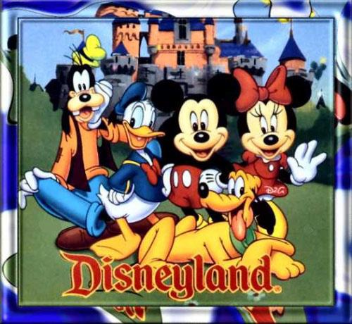 Ungewöhnlich Disneyland Picture Frame Galerie - Badspiegel Rahmen ...