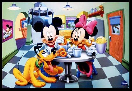 mickey und pluto