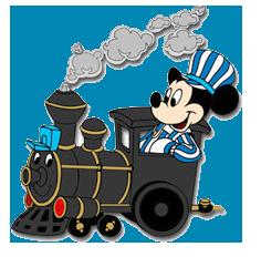 mickey mouse clipart Train Conductor Silhouette railroad conductor clipart