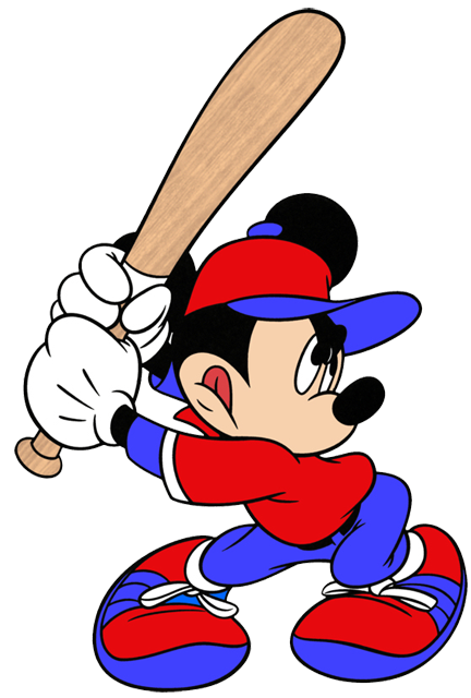 Mickey Mouse Sports Clipart