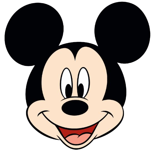 black and white mickey mouse face classmickwinkface png