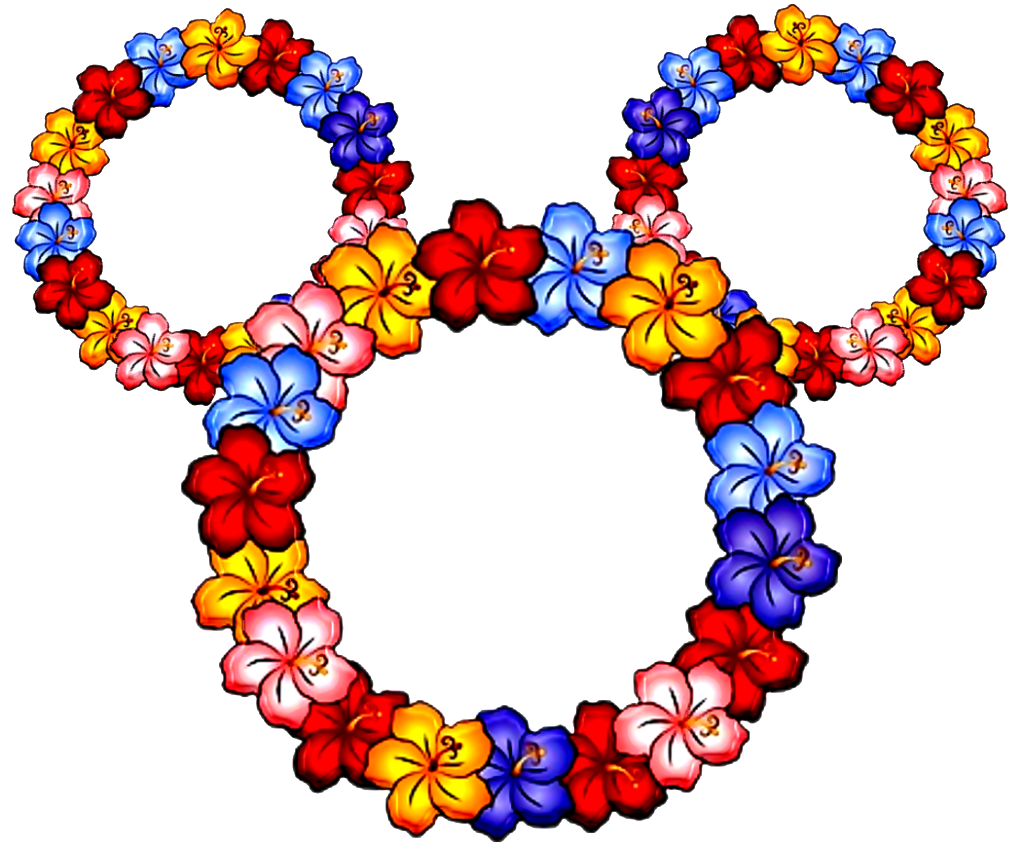 ... Lei Mickey Ears, Flower ...