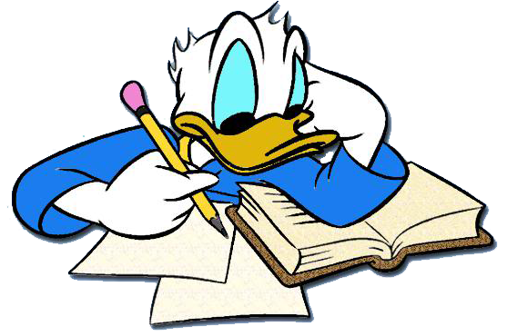 Page 1 page 2 back to mickey s clipart clipart library mickey s pals - Donald Duck Clipart