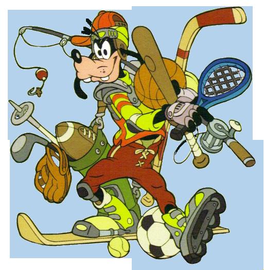 Goofy Sports Clipart