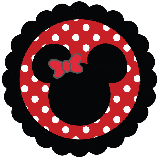 Minnie mouse heads clipart