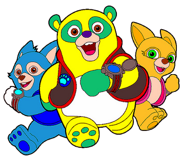 Special Agent Oso Clipart