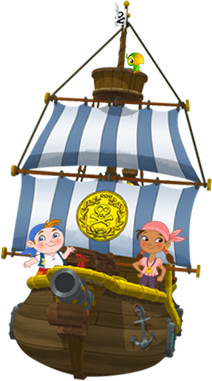 Argh! Welcome to the crew of Jake and the Never Land Pirates!