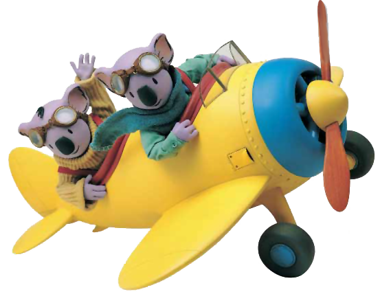 Archie The Koala Brothers Plane Pictures to Pin on ...