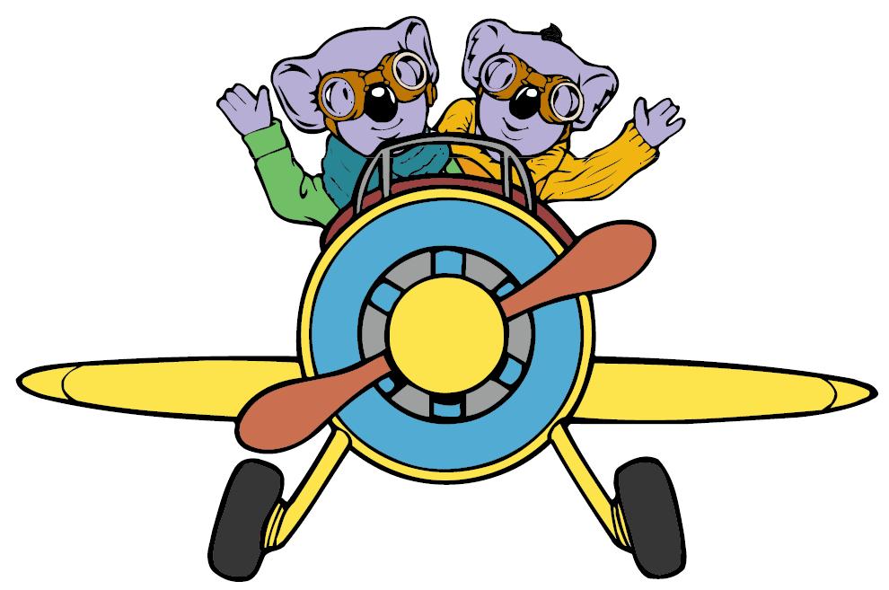 Koala Brothers Clipart