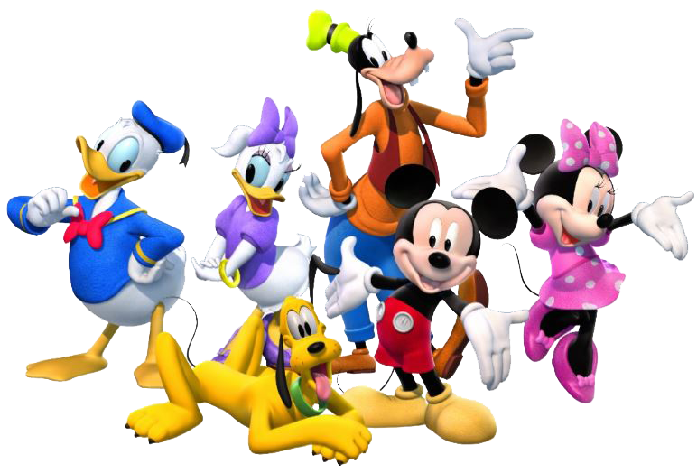 mickey and friends clipart - Jaxstorm.realverse.us