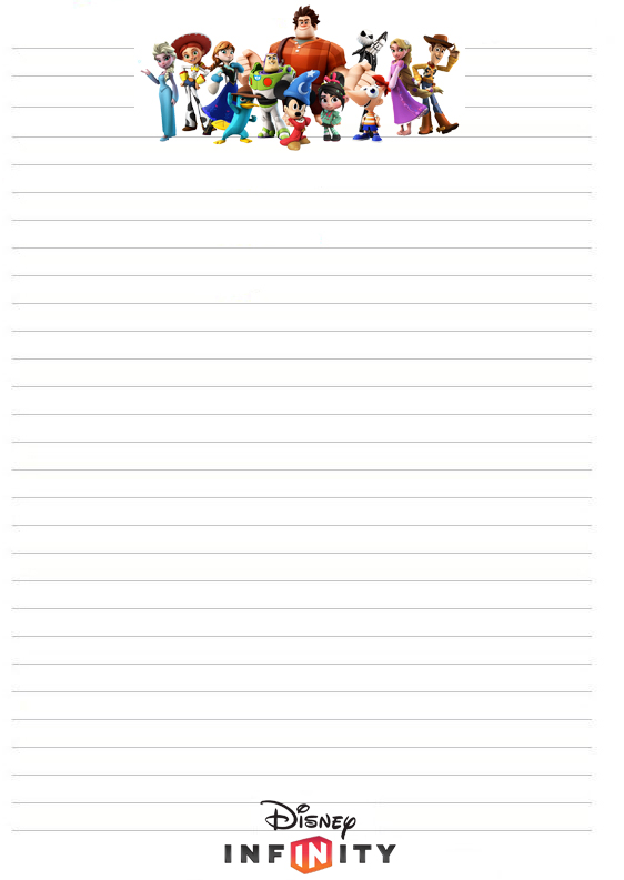 Printable Lines Paper Disinfinitystationery 562×793  Printable Stationery .