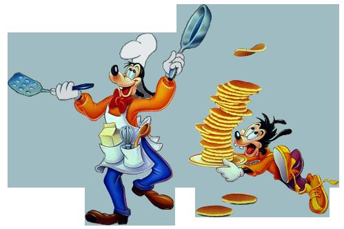 Goofy Max Pancakes Goof Troop Guys